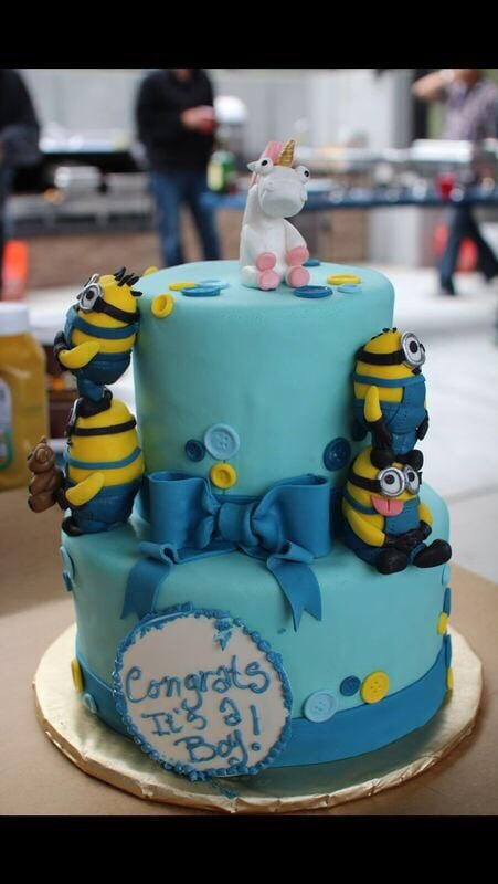 san francisco ca united states little minion baby shower cake