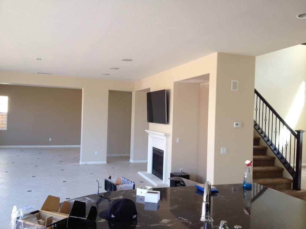 CORONA HOME THEATER 5.1 in ceiling speakers with t. Installation ...