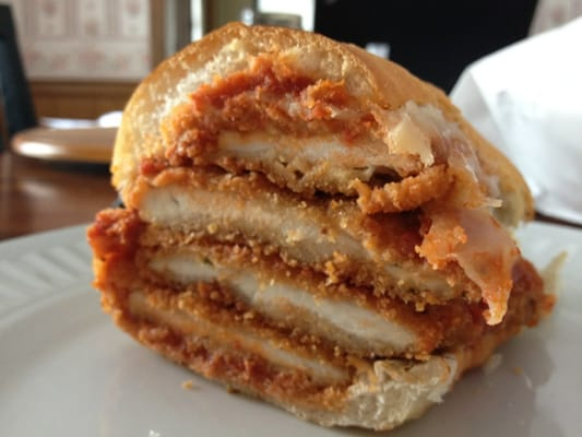 Wethersfield Pizza House - Italian Style Chicken Cutlet Sandwich. Keep ...