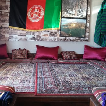 The afghan village houston tx united states sitting area for Afghan cuisine houston tx