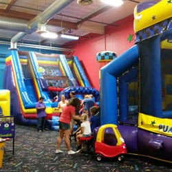 Based in Chula Vista, Calif., Pump It Up is one of the leading private inflatable party zones for children in the United States. The zone specializes in hosting a variety of party packages for occasions, such as birthday party, glow party, special events and family jump time.7/10(57).