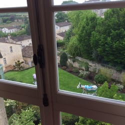Hostellerie de Plaisance - Saint Emilion, Gironde, France. View from room