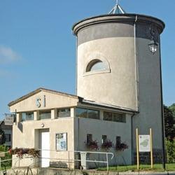 Station Service Municipale de Condé en Brie, Condé-en-Brie, Aisne, France