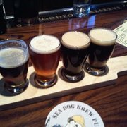 "Sea Dog Brew Pub - ""The Sampler"". - Woburn, MA, Vereinigte Staaten"