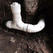 Kendrick Plumbing - Marietta, GA, États-Unis. Sewer line repair