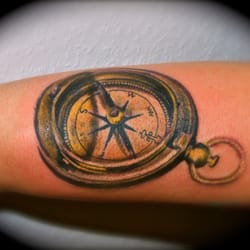 Taschen Kompas Tattoo, Independent Color…