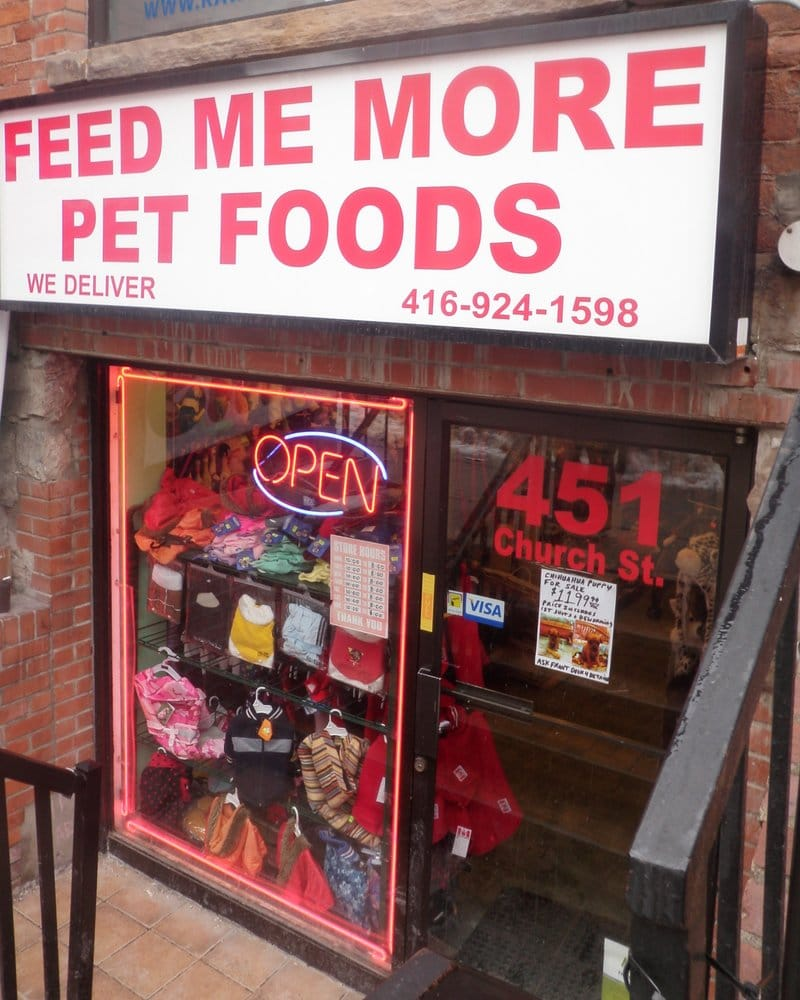 feed me more pet foods   pet stores   toronto on   yelp