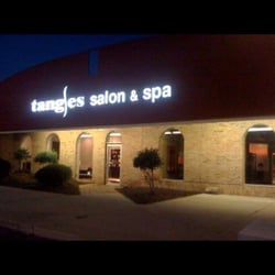 Tangles salon spa fort wayne in yelp for A nail salon fort wayne in