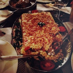 MAQLUBA (Auberginen, Reis und…