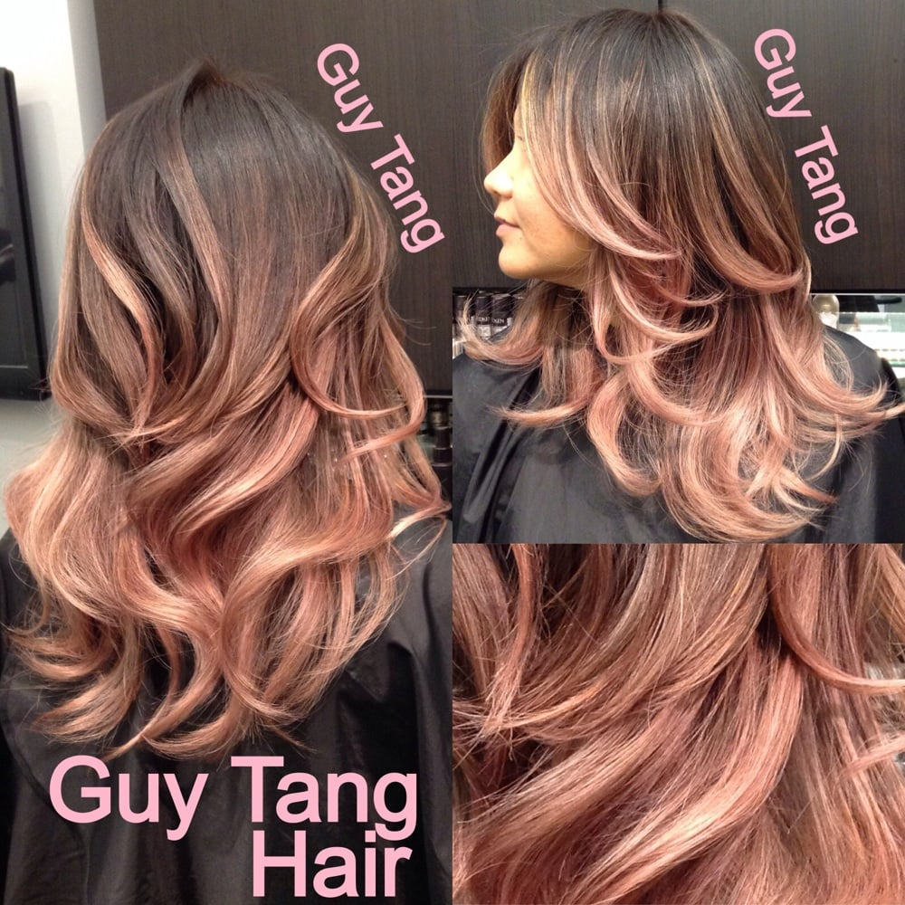 Rose Gold Ombre Hair Guy Tang Guy Tang Rose Gold Ombr by
