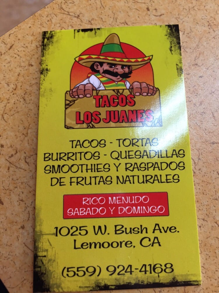 Fast Food In Lemoore Ca