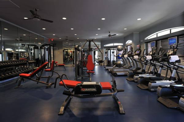 State Of The Art Fitness Center Fully Equipped With Free