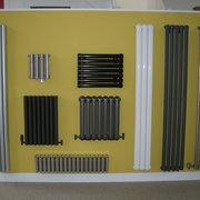 Feature Radiators' Contemporary range includes vertical and horizontal models stocked in different colours.