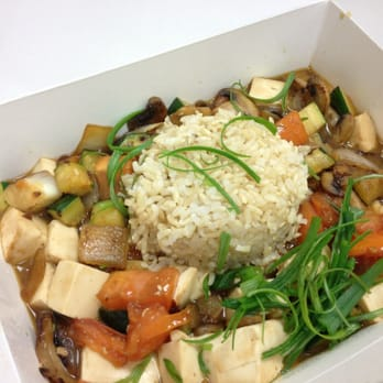 The Prolific Oven - Tofu with brown rice-to go - Santa Clara, CA, Vereinigte Staaten
