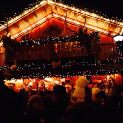 Trierer Weihnachtsmarkt, Trèves, Rheinland-Pfalz, Germany
