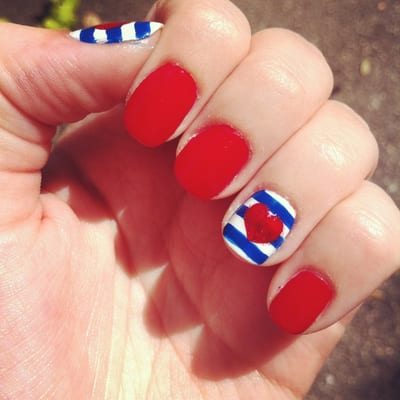 Beyond Nail Spa - Awesome nail art courtesy of Beyond Nail Spa ...