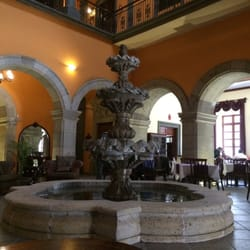 hotel morales guadalajara jalisco mexico fountain in. Black Bedroom Furniture Sets. Home Design Ideas