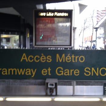 M tro gare lille flandres transports en commun centre - Magasin metro lille ...
