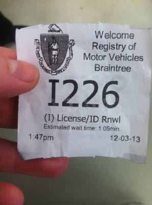 registry of motor vehicles braintree ma verenigde