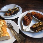 Tapas - Meatballs, Chicken Skewers,…