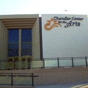 Chandler Center For The Arts - Chandler Center for the Arts, facade - Chandler, AZ, Vereinigte Staaten