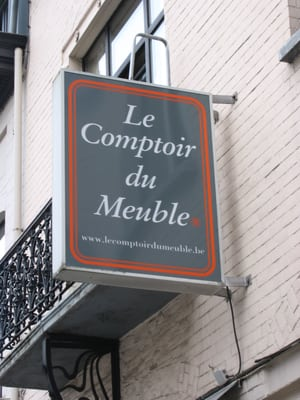 Le comptoir du meuble magasin de meuble woluwe saint for Comptoir du meuble