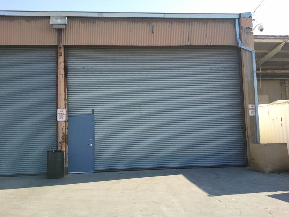 Heavy Duty Commercial Roll Up Door With Man Door Yelp