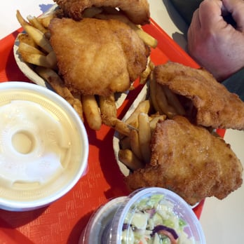 Spud fish chips 10 photos seafood restaurants 174 for Spuds fish and chips