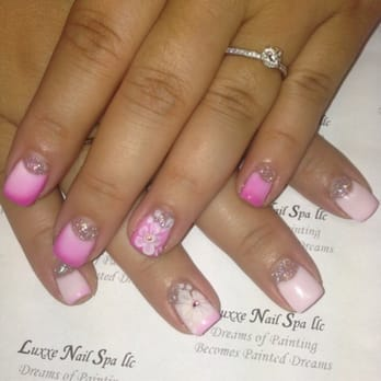 Luxxe nail spa nail salons brewerytown philadelphia for 3d nail art salon new jersey