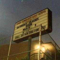 Adult evans school