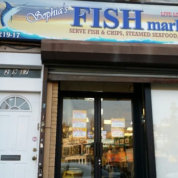 Sophias fish market seafood markets 219 17 jamaica ave for Jamaica fish market