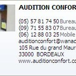 Audition Confort, Bordeaux