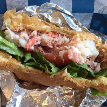 lobster roll awesome awesome awesome lightly toasted buttered roll ...