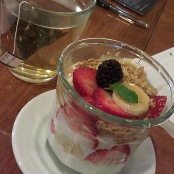 fruit and yogurt parfait california state fruit