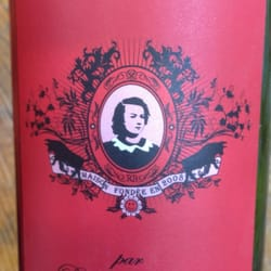 Le Rosa Bonheur - Paris, France. Own house wine label