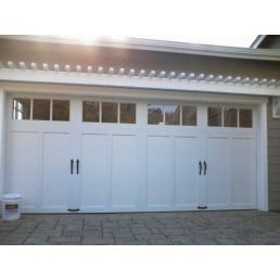 Clopay coachman collection cd 13 sq23 orinda ca yelp for Garage door repair santa cruz
