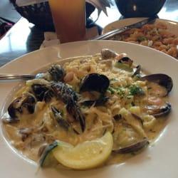 Seafood Fettuccine ...yum!