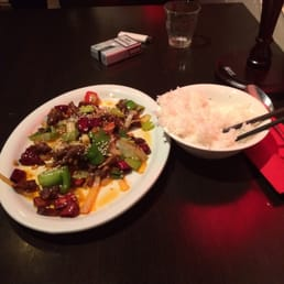Really good food. İf you're looking for a different kind of chinese food, this is your place! İ ordered mongolian beef and great