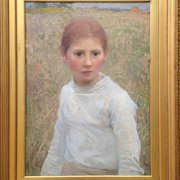 Brown Eyes, George Clausen
