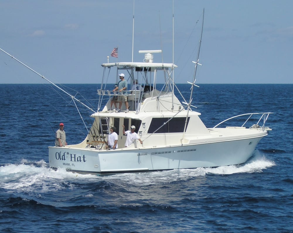 Old hat deep sea fishing charters boat charters sunny for Randys fishing trips