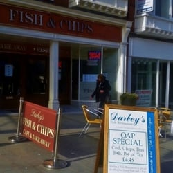 Darbey's Traditional Fish & Chips, Colwyn Bay, Conwy