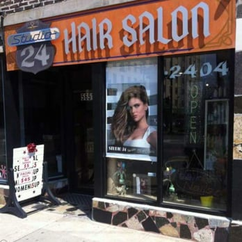 Studio 24 hair salon hair salons andersonville for A touch of elegance salon