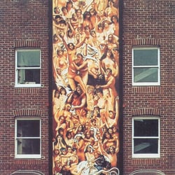 The Last Judgement Robert Lenkiewicz Mural on The House That Jack Built Facade