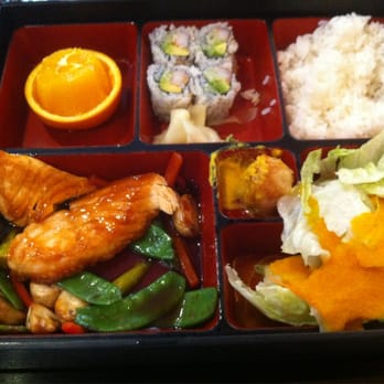 Akira - Moorestown, NJ, États-Unis. Salmon Bento Box