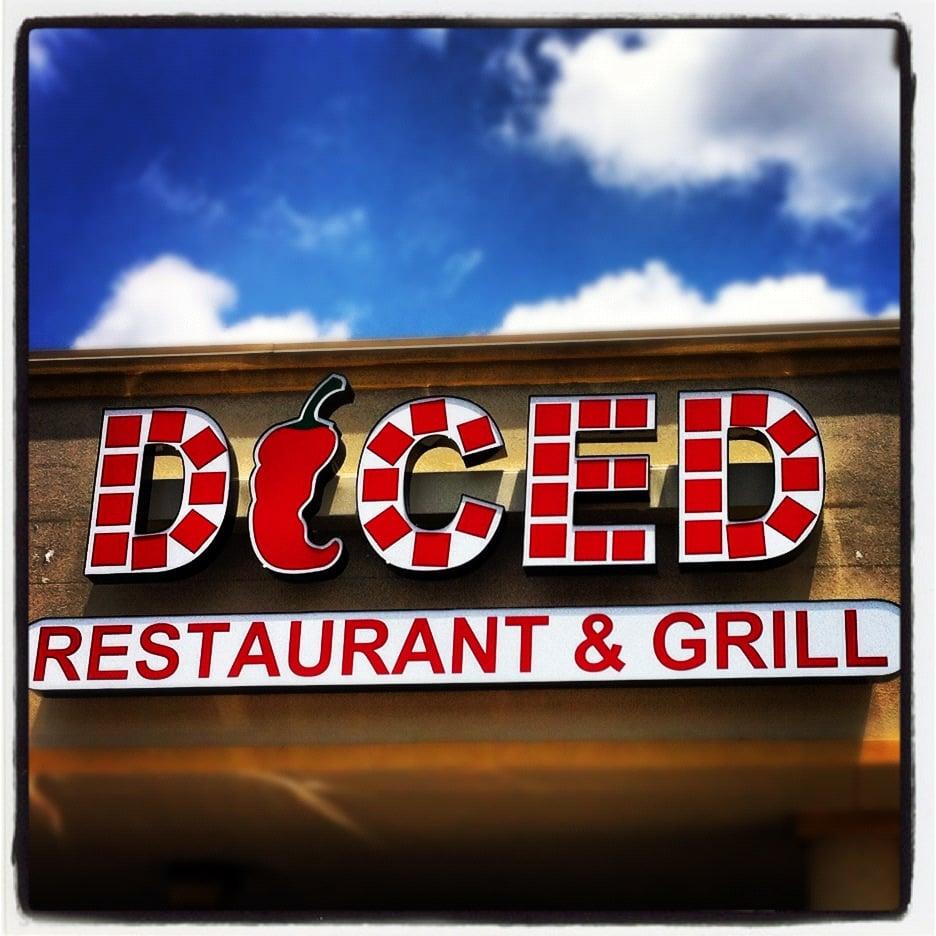 Diced restaurant grill chiuso cucina fusion asiatica for 310 terrace dr richardson tx