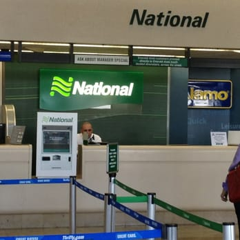 National Rental Car At John Wayne Airport