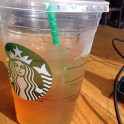 Starbucks - Alexandria, VA, États-Unis. Peach Green tea