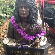Marc Bolan's Rock Shrine, London