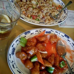 Ming 39 S Garden Chinese Restaurant Family Dinner Special 39 A 39 With Egg Drop Soup Egg Rolls 4