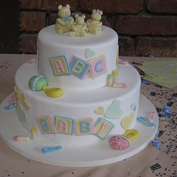 Betty Bakery - custom baby shower cake - so delicious! - Brooklyn, NY ...